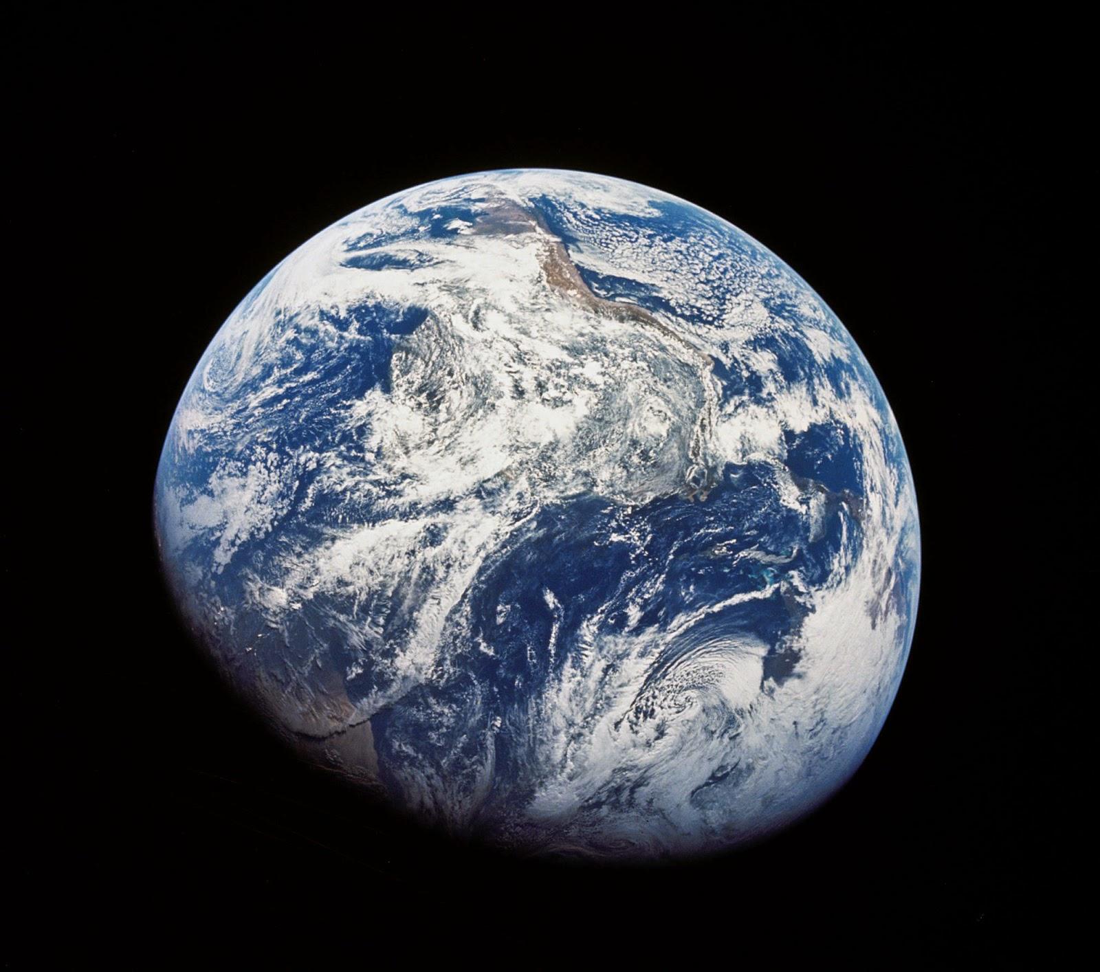 Foto de la Tierra Apolo 8