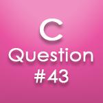 c question