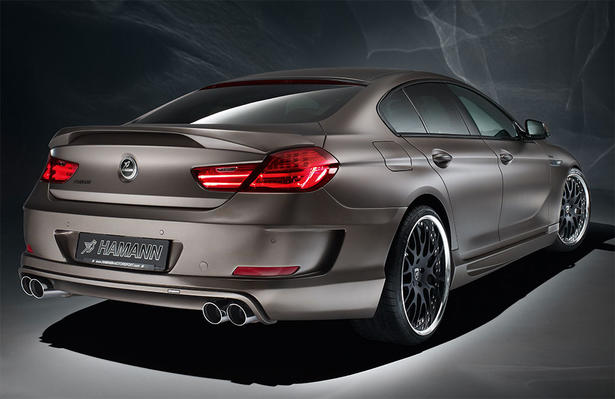 The Hamann BMW 6 Series Gran Coupe Comes With A New Body Kit That Includes Bespoke Front Grille More Aggressive Bumper Large Vents