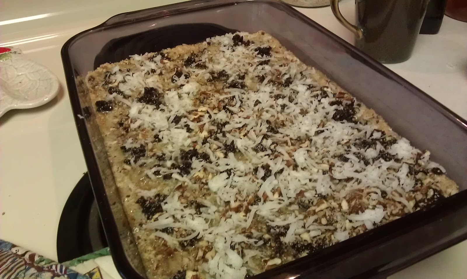 bcmom's kitchen: Cranberry Coconut Pecan Bars