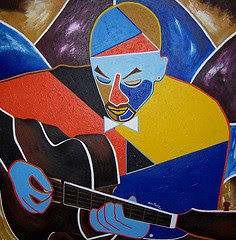 Guitar Man (Sold)