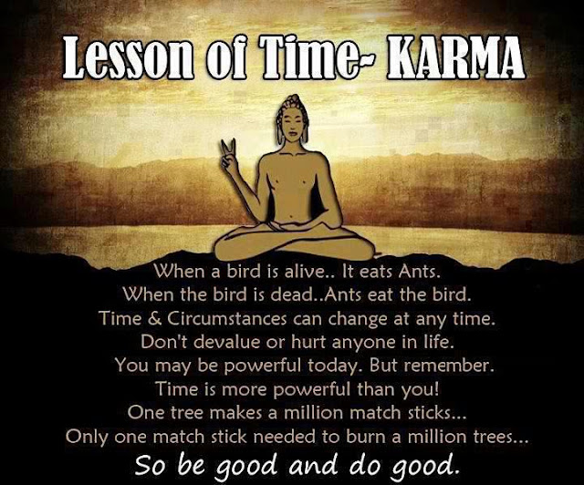 Lesson of Time-Karma