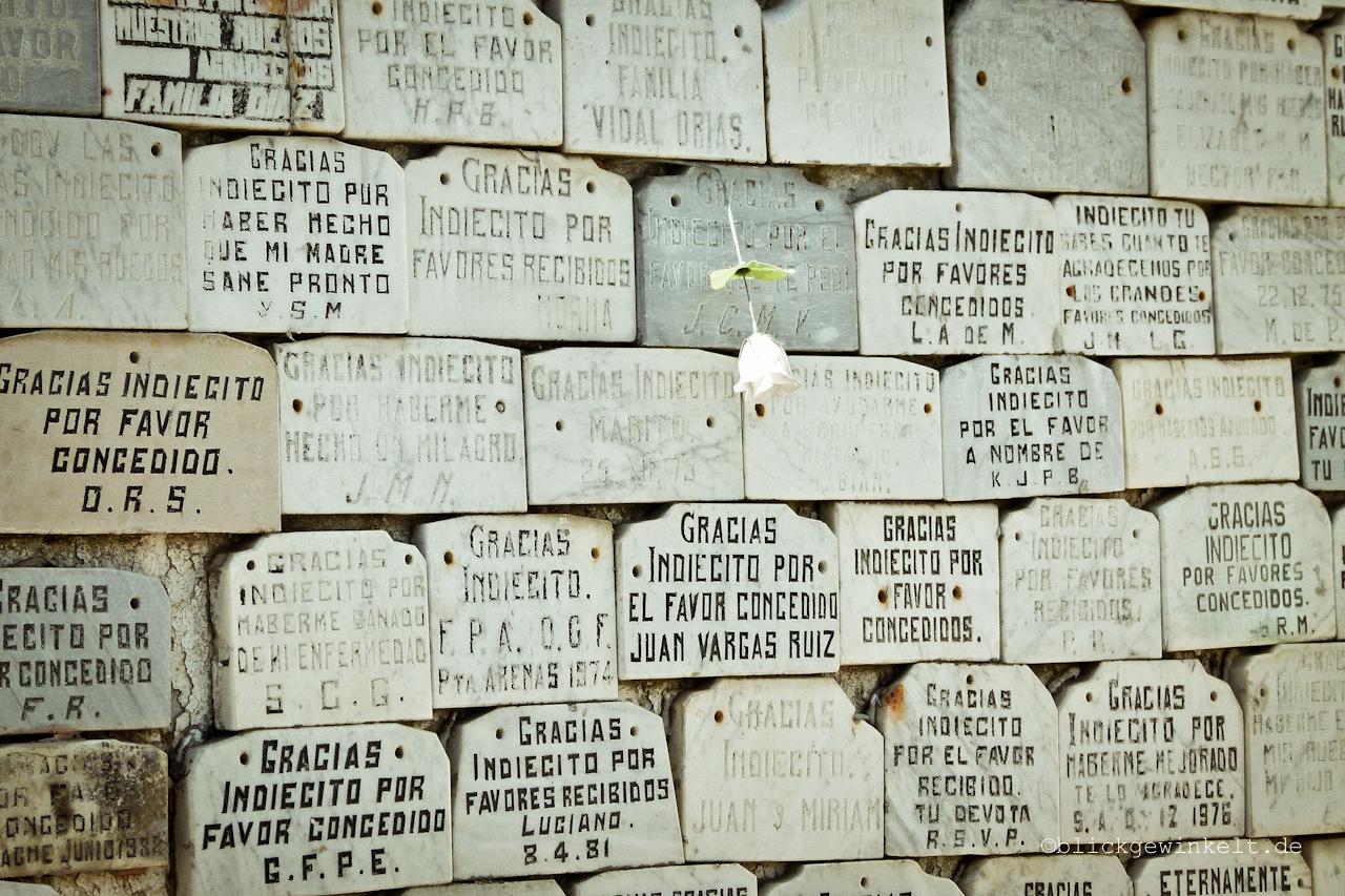 Denkmal des unbekannten Indianerjungen, Friedhof Punta Arenas