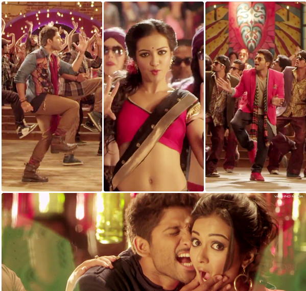 Iddarammayiltho Top Lesi Poddi Song Stills