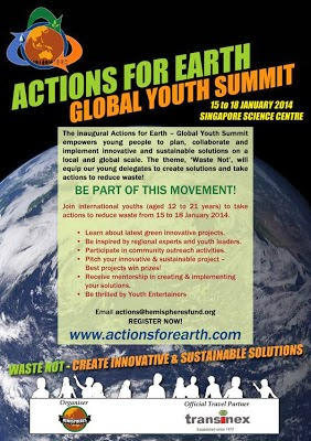 Youths taking actions for sustainable living
