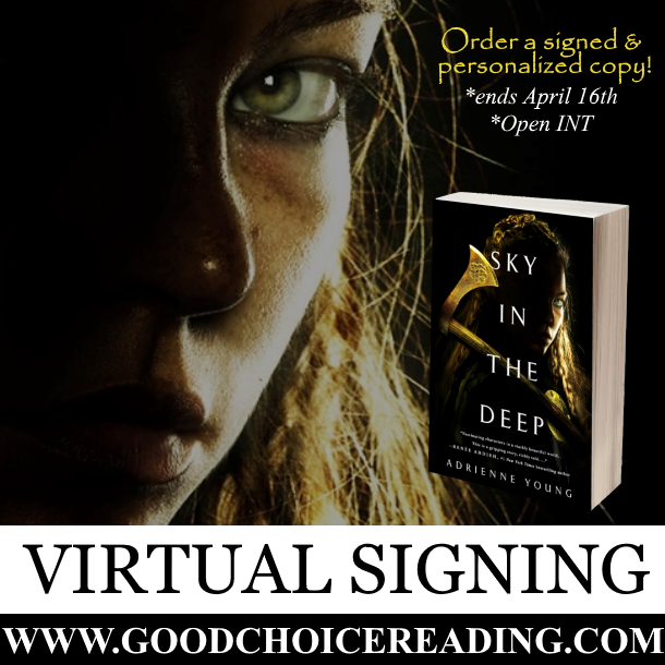Sky In The Deep by Adrienne Young Virtual Signing!
