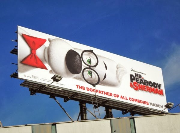 Mr Peabody and Sherman movie billboard
