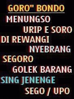Gambar Kata kata Bahasa Jawa Lucu Di facebook