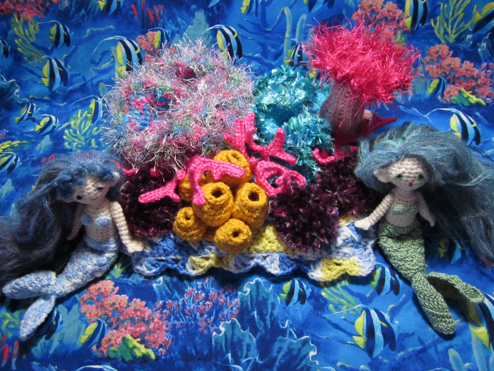 By Hook, By Hand: Crochet a Coral Reef