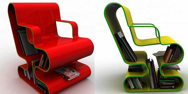 10 ideias criativas e úteis para móveis e objetos: Cadeira de leitura