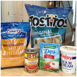 Fiesta ranch Dip - only 4 ingredients