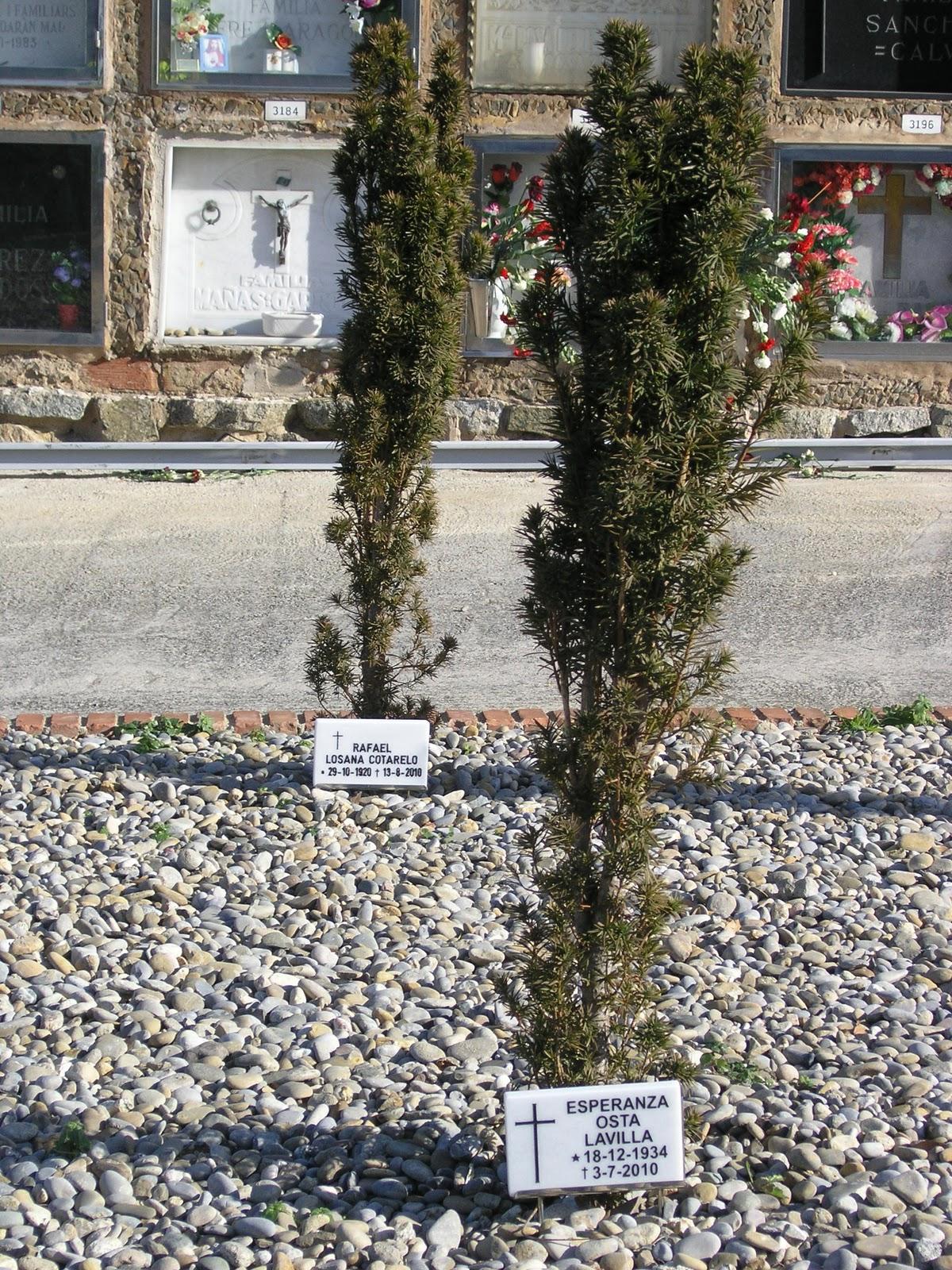 Diversidad en el cementerio de montjuic jardin de los aromas for Cementerio jardin