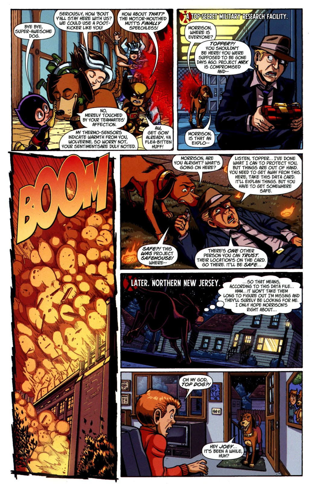 Read online X-Babies comic -  Issue #4 - 20
