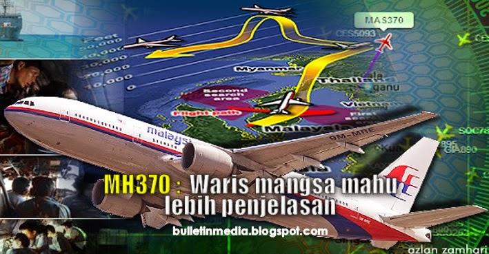 MH370: Waris Mangsa mahu lebih penjelasan – Tiong Lai