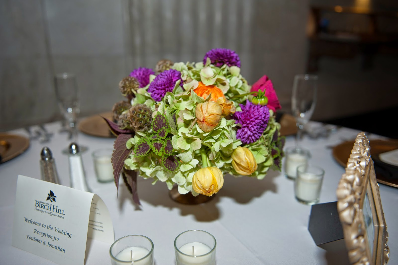 Sixty State Place Wedding - Centerpiece - Downtown Albany NY Wedding - Old Historical Bank Wedding - Historical Venue Wedding - Upstate NY - Splendid Stems Floral Designs