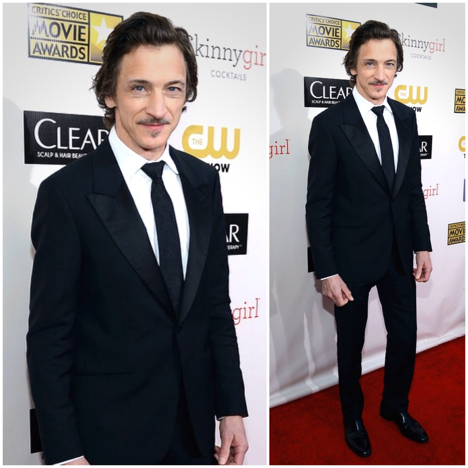 00O00 London Menswear blog John Hawkes in Alexander McQueen - 18th Annual Critics' Choice Movie Awards, Los Angeles