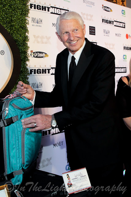 Celebrity Fight Night 2013 Red Carpet Lute Olson