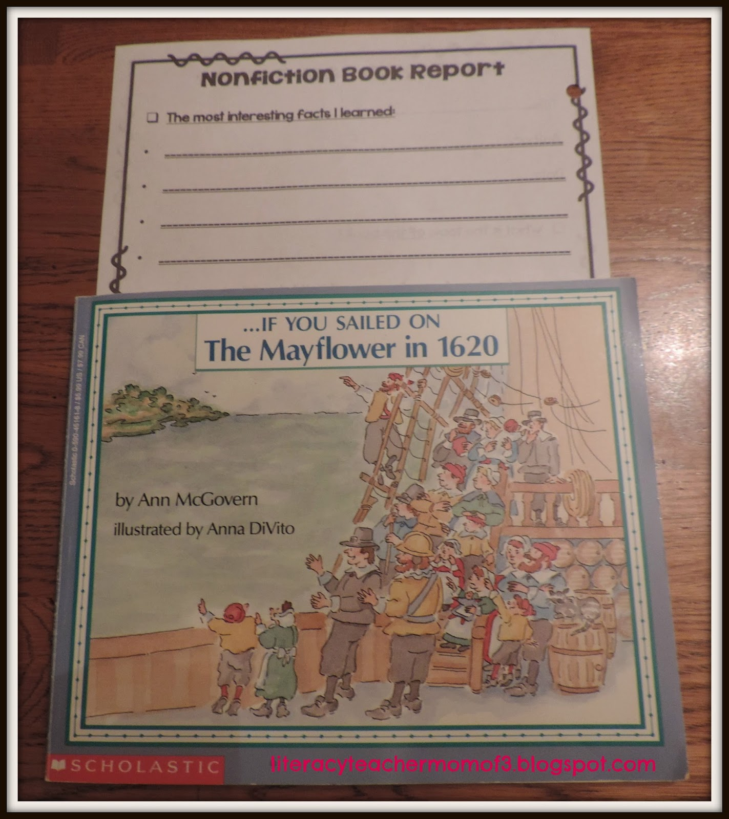 non fiction book report elementary school