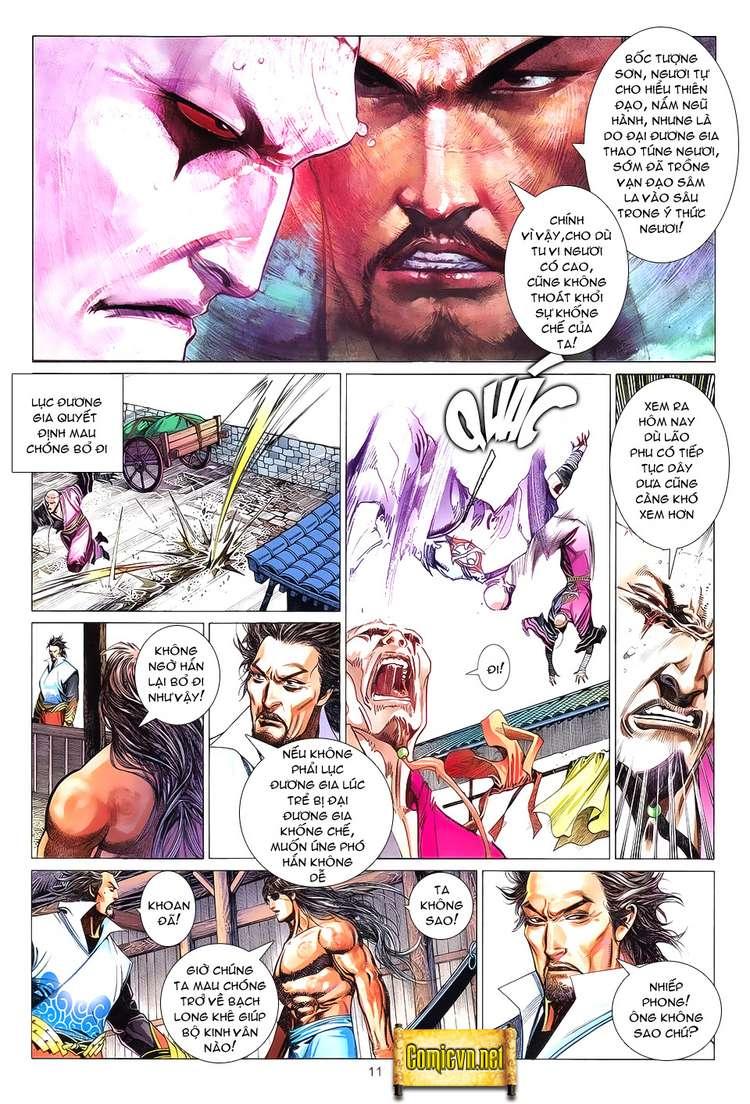 Phong Vân chap 621 Trang 11 - Mangak.info