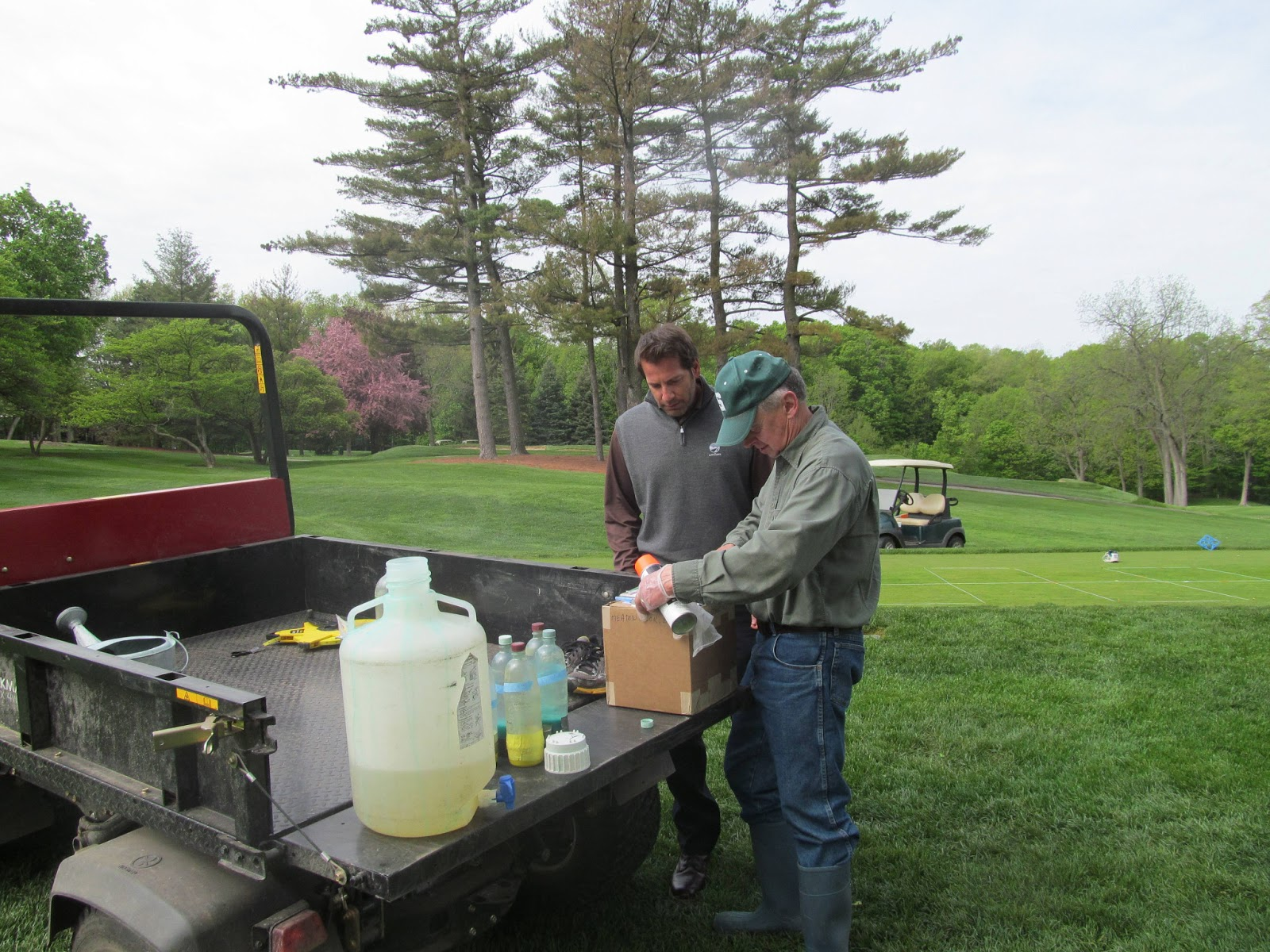 meadowbrook country club golf course maintenance fungicide trials