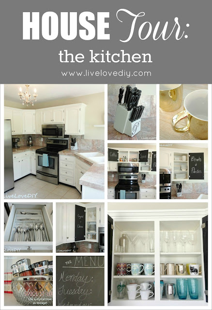 LiveLoveDIY Kitchen - great affordable ideas for updating old kitchens!