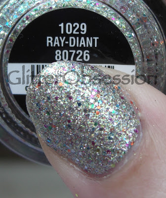 china glaze Ray-diant, china glaze Ray-diant swatch, china glaze Ray-diant nails, china glaze Ray-diant nail swatch, china glaze Ray-diant manicure, china glaze prismatic chroma glitters swatch