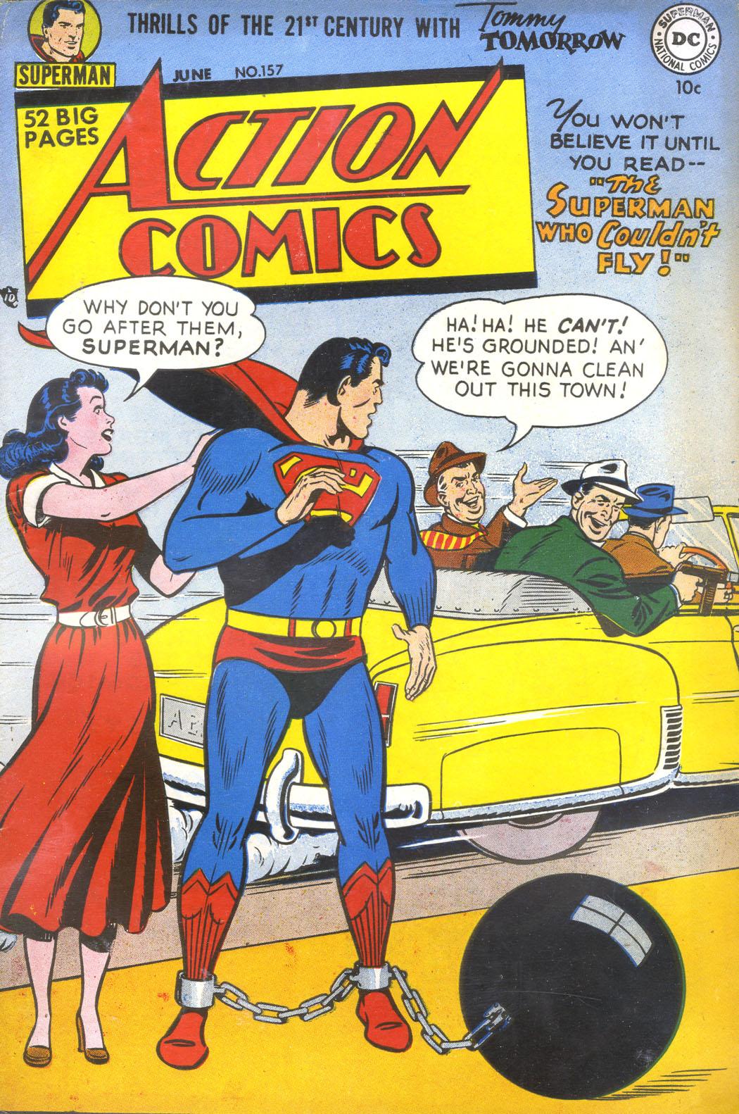 Action Comics (1938) 157 Page 1