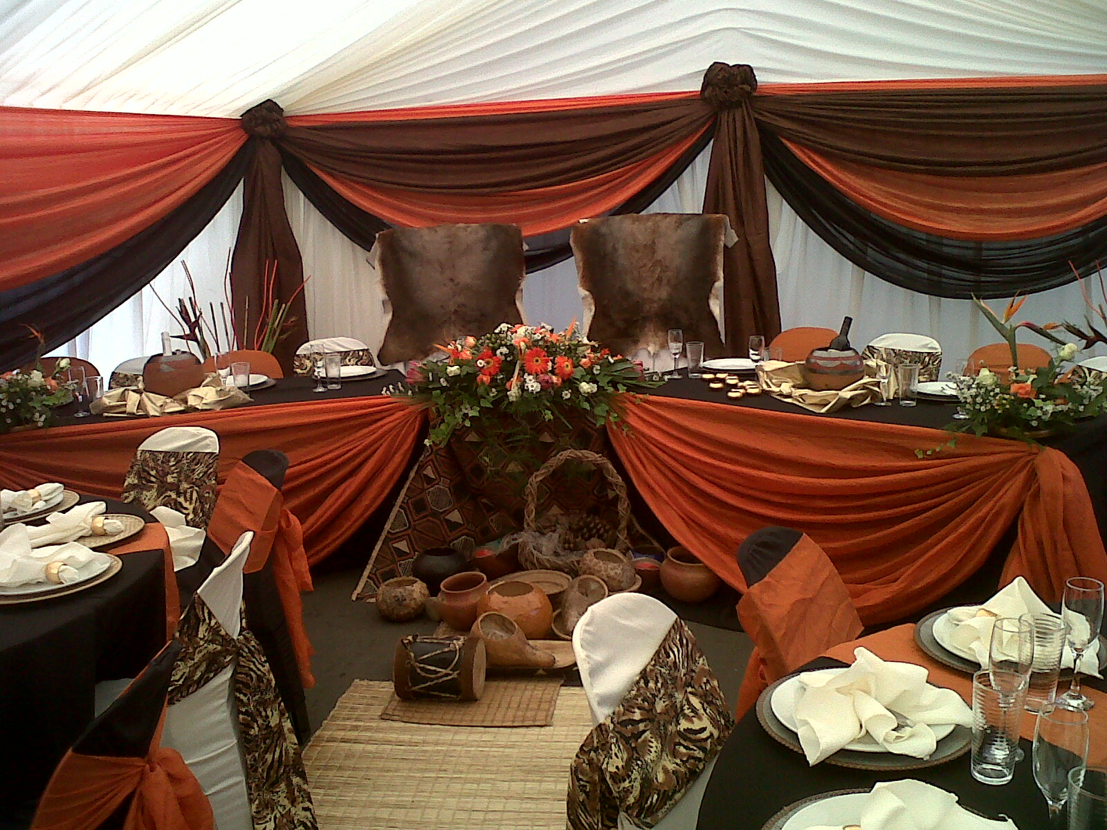 Traditional wedding decor romantic decoration for African party decoration