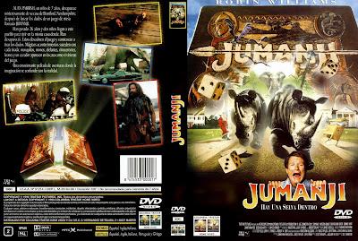 Carátula dvd: Jumanji (1995)