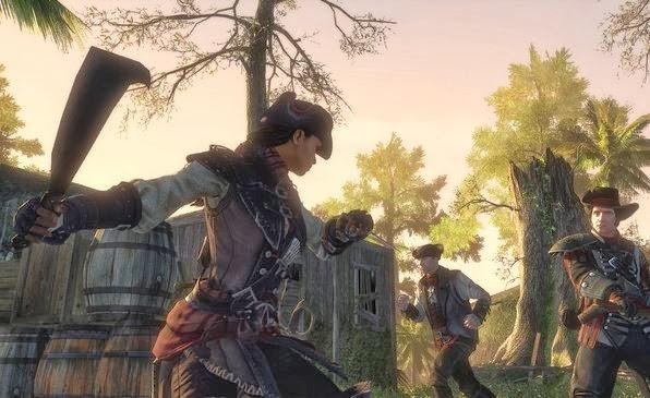 Gameplay Assassins Creed Liberation HD