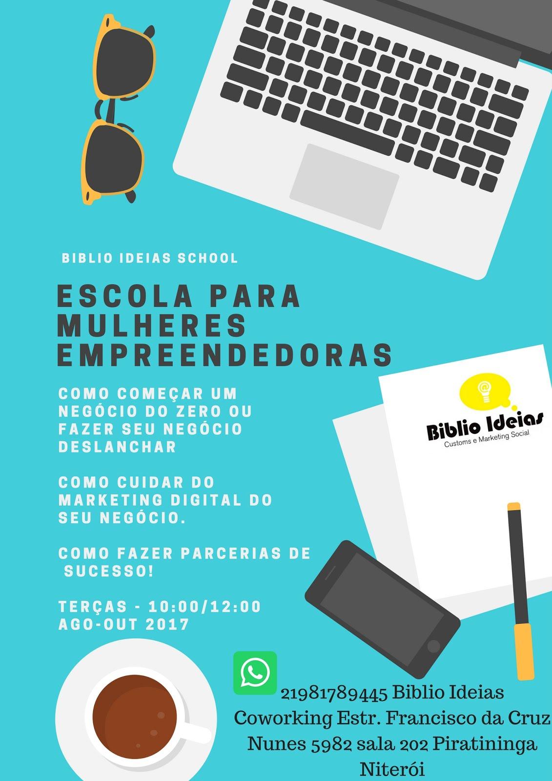 Escola para mulheres empreendedoras