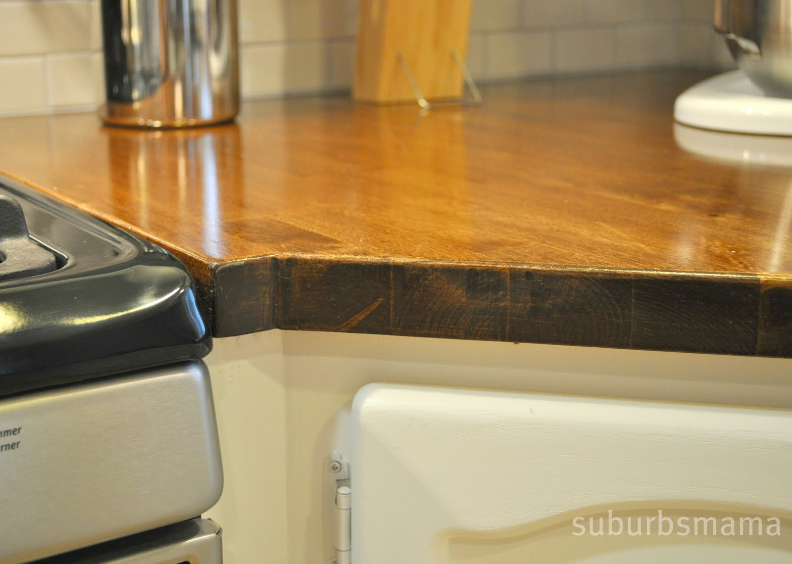 Suburbs Mama Our Butcher Block Counters