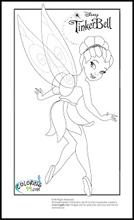 tinkerbell and friends iridessa coloring pages