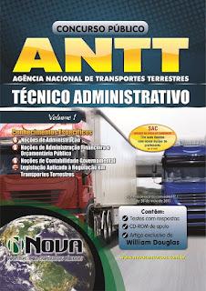 Apostila ANTT - Agência Nacional de Transportes Terrestres para Técnico Administrativo