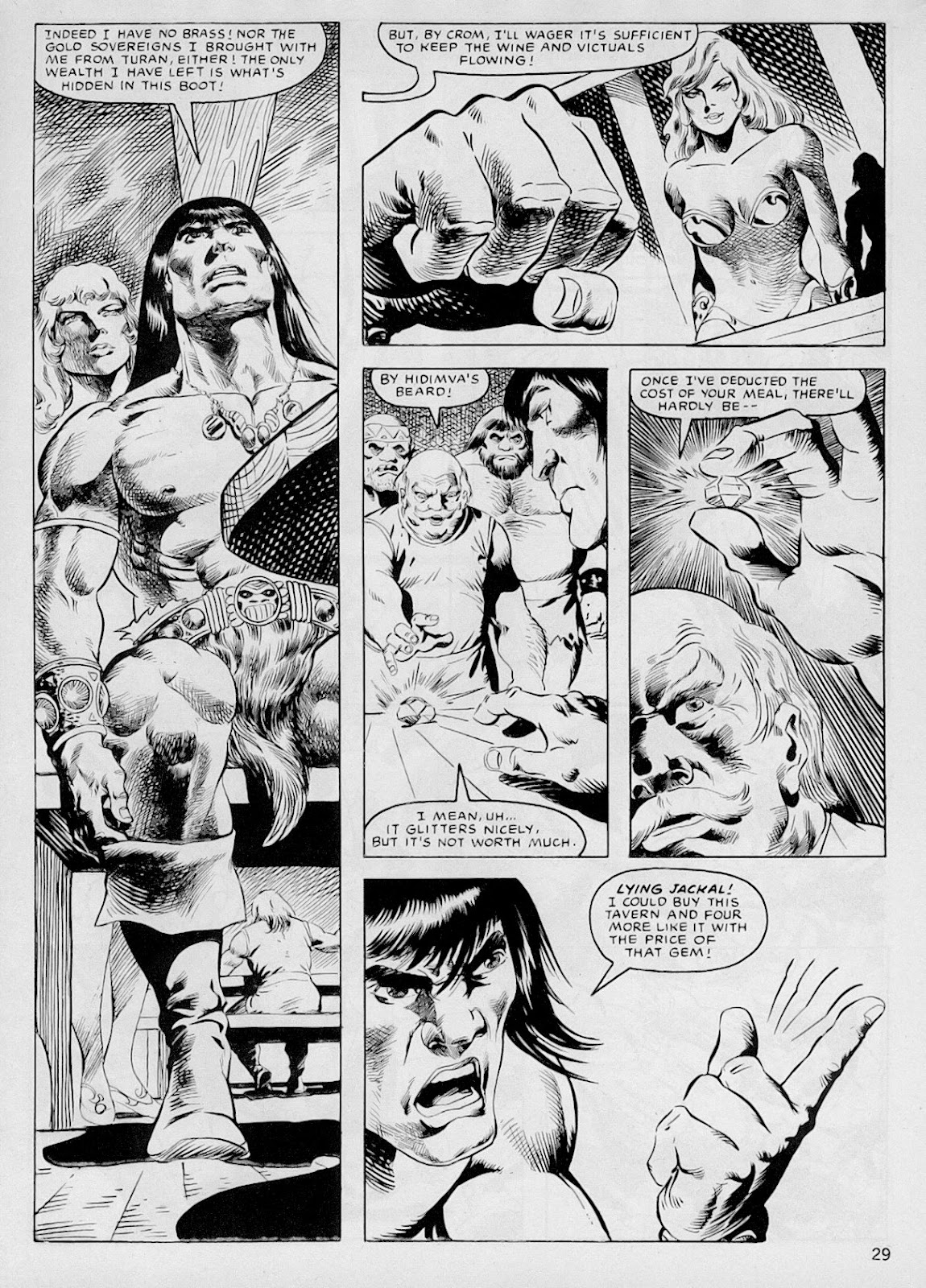 The Savage Sword Of Conan Issue #103 #104 - English 28