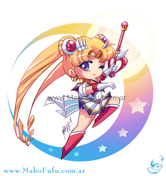 .: Chibi Super Sailor Moon :. por Mako-Fufu