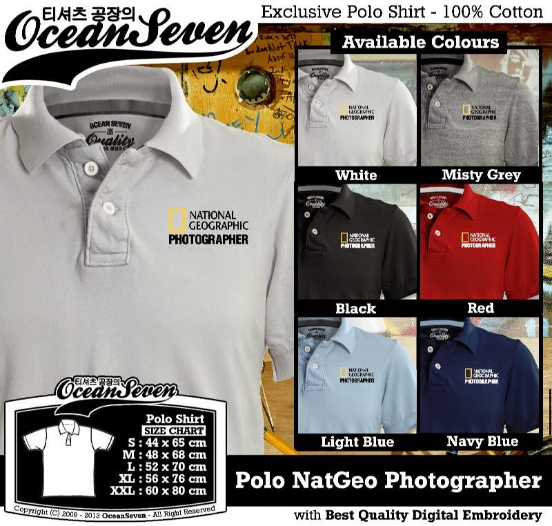Kaos Polo NatGeo Photographer
