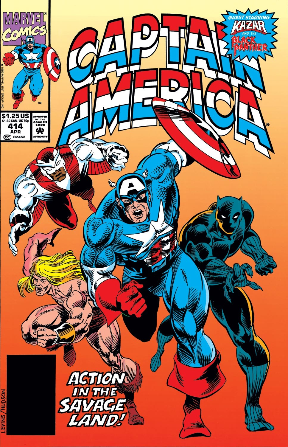 Captain America (1968) Issue #414 #363 - English 1