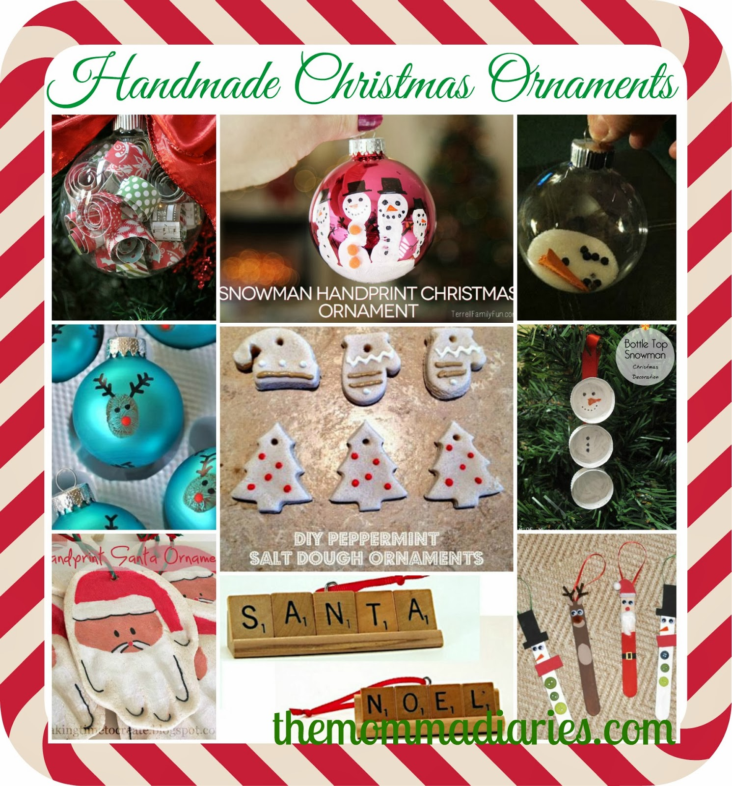 #handmade #christmas #ornaments