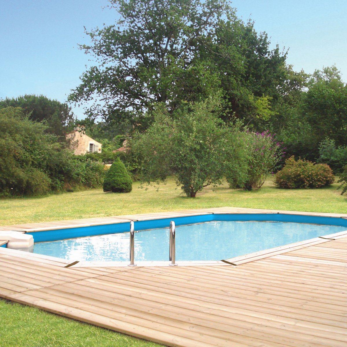 J 39 ai descendu dans mon jardin une piscine dans mon jardin - Prix moyen piscine enterree ...