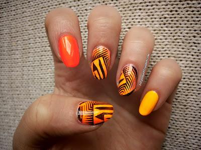 http://belgijska.blogspot.com/2015/06/nail-stamping-challenge-geometric.html