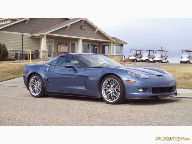 2011 Chevrolet Corvette Z06 Supersonic Blue