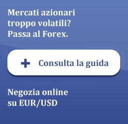 Consulta la guida gratuita sul Forex on line