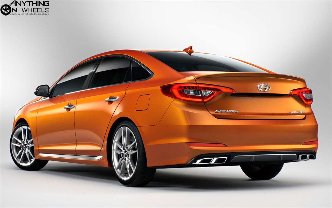 anything on wheels 2014 new york all new hyundai sonata uncovered. Black Bedroom Furniture Sets. Home Design Ideas