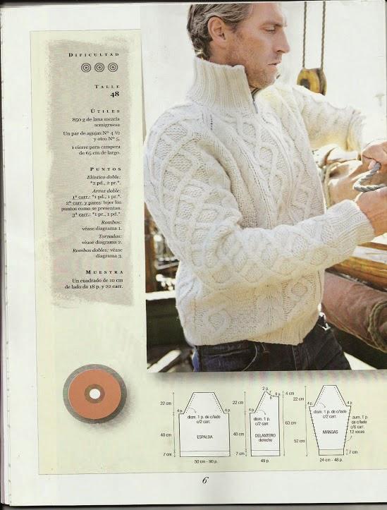Instrucciones de suéter