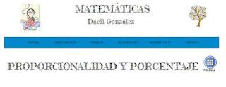http://www.dacilmatematicas.com/#!proporcionalidad-y-porcentaje/c1dht