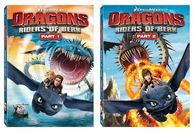 Dragons: Riders of Berk 1 & 2