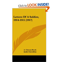 FREE: Letters of a Soldier 1914-1915 [Anonymous] 4 customer reviews