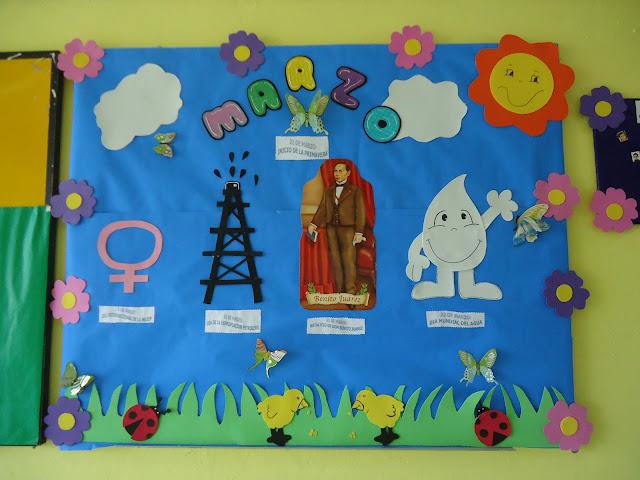 Maestroscomot peri dico mural marzo for Como organizar un periodico mural