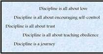 The importance of discipline quote